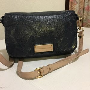 Marc by Marc Jacobs Blue Leather Crossbody